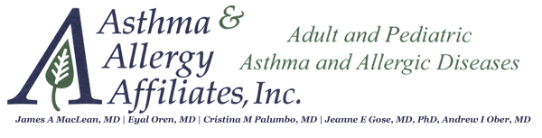Asthma and Allergy Affiliates Retina Logo